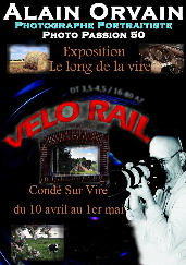 Affiche du concours photos d'Alain Orvain sur la Vallée de la Vire