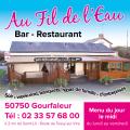Restaurant Au fil de l'Eau à Gourfaleur