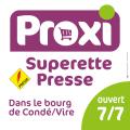 Superette Proxi à Condé-sur-Vire